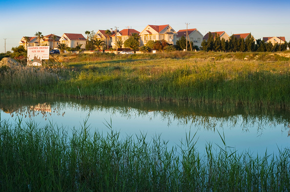 Republic Of Cyprus「Cyprus, Larnca, Voraklini. Over supply of speculative built developments」:写真・画像(18)[壁紙.com]