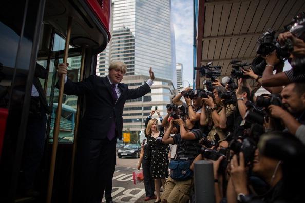 Visit「London Mayor Boris Johnson Visits Hong Kong」:写真・画像(5)[壁紙.com]