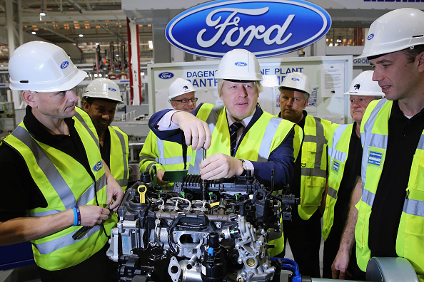 Industry「Mayor Boris Johnson Visits The News State Of The Art Ford Production Line」:写真・画像(2)[壁紙.com]