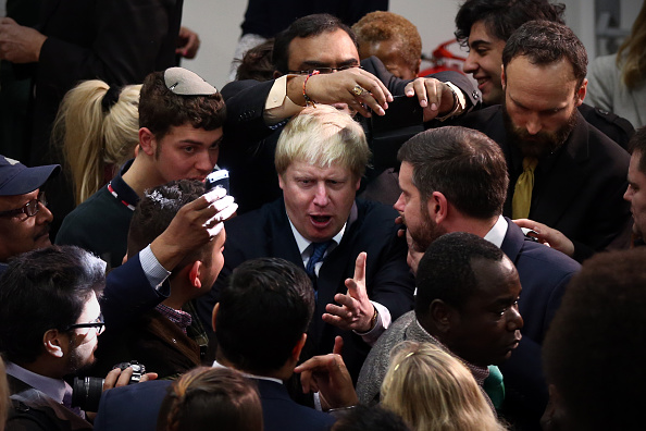 Politics and Government「Boris Johnson Launches The Conservative Party London Election Campaign」:写真・画像(7)[壁紙.com]