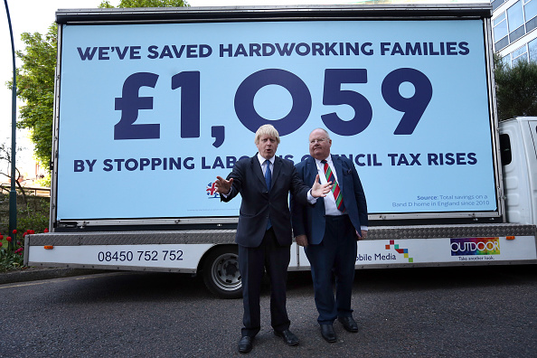 Conservative Party - UK「Boris Johnson And Eric Pickles Launch Conservative Campaign Posters」:写真・画像(7)[壁紙.com]