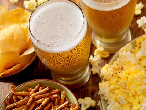 Chicken Wing「Beer and Popcorn」:スマホ壁紙(13)
