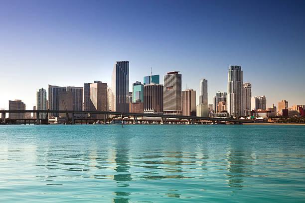 マイアミフロリダの日中の街並み:スマホ壁紙(壁紙.com)