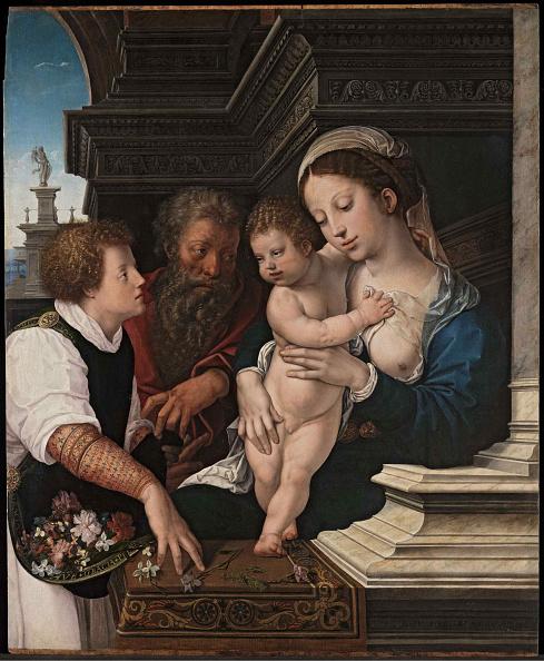 Oil On Wood「The Holy Family」:写真・画像(10)[壁紙.com]