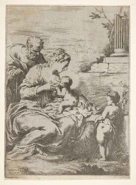 John The Baptist「The Holy Family With The Infant St John The Baptist At Right」:写真・画像(12)[壁紙.com]