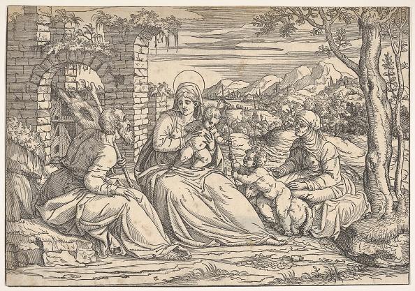 John The Baptist「The Holy Family With Saints Elizabeth And John」:写真・画像(8)[壁紙.com]