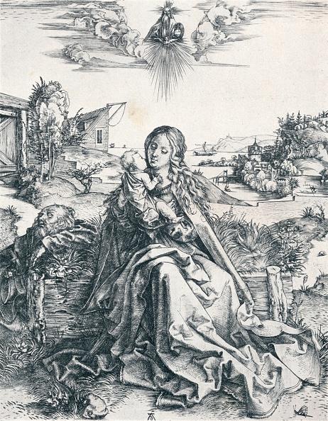 とんぼ「'The Holy Family with the Dragonfly', 1495 (1906). Artist: Albrecht Durer.」:写真・画像(6)[壁紙.com]