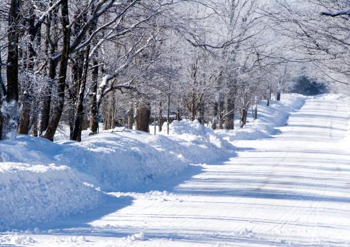 Snowdrift「Snowy Winter Street」:スマホ壁紙(13)