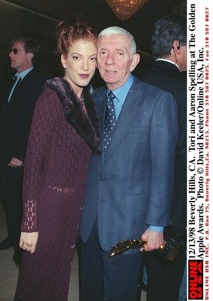 David Keeler「Tori And Aaron Spelling At Hollywood Women's Press Club」:写真・画像(12)[壁紙.com]