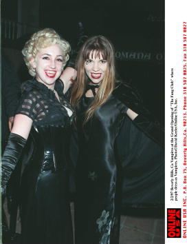 "David Keeler「2/2/97 Beverly Hills, Ca Vampires at the grand opening of ""The Fang Club""」:写真・画像(6)[壁紙.com]"