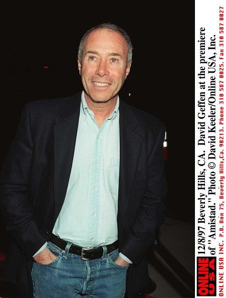 "David Keeler「12/8/97 Beverly Hills, CA. David Geffen the premiere of ""Amistad.""」:写真・画像(3)[壁紙.com]"