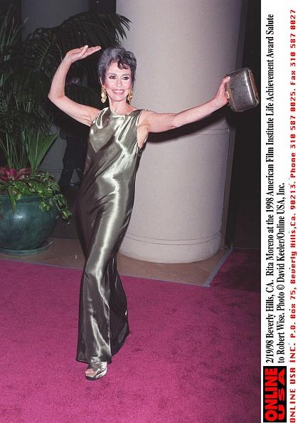David Keeler「Rita Moreno At The 1998 American Film Institute Life Achievement Award Sa」:写真・画像(18)[壁紙.com]