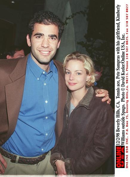 David Keeler「Tennis Ace Pete Sampras With His Girlfriend Kimberly Williams Outside S」:写真・画像(12)[壁紙.com]