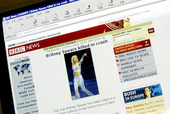 "Communication「Fake ""BBC News"" Website Claims Britney Spears Died」:写真・画像(7)[壁紙.com]"