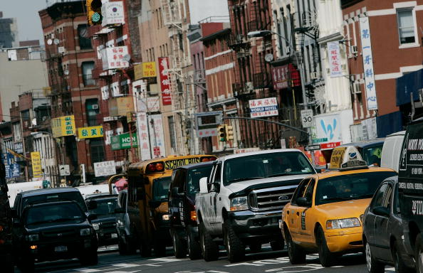 Lower Manhattan「Congestion Charge Included In NYC Environmental Initiative」:写真・画像(14)[壁紙.com]