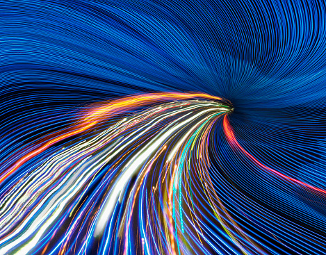 Blurred Motion「Speeding Information Superhighway」:スマホ壁紙(0)