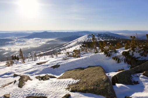 Snowdrift「Winterpark.  Sheregesh.」:スマホ壁紙(12)