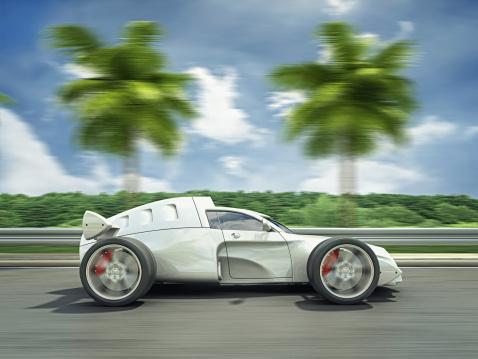 Hot Rod Car「exotic racecar」:スマホ壁紙(9)