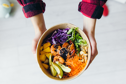 Ginger - Spice「Ready to eat tasty seafood poke bowls staying at home」:スマホ壁紙(18)
