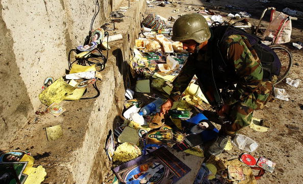 High Angle View「Suicide Bombers Kill Dozens in Baghdad  Shiite Mosque」:写真・画像(8)[壁紙.com]