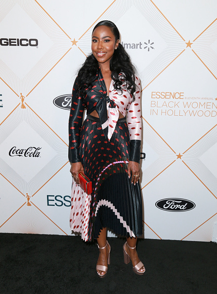 Chunky Heels「2018 Essence Black Women In Hollywood Oscars Luncheon - Red Carpet」:写真・画像(17)[壁紙.com]