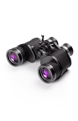 Discovery「Binoculars on white background」:スマホ壁紙(16)