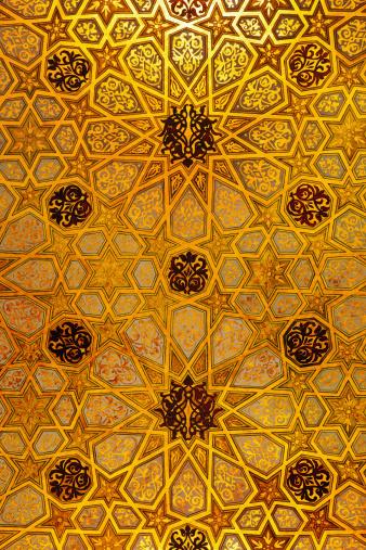 Moorish「Synagogue ceiling detail」:スマホ壁紙(11)