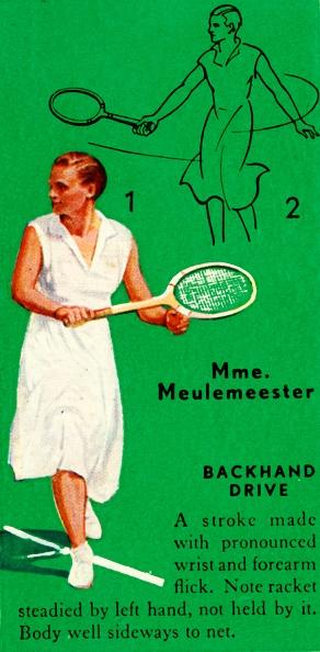 スポーツ用品「Mme Meulemeester - Backhand Drive」:写真・画像(19)[壁紙.com]