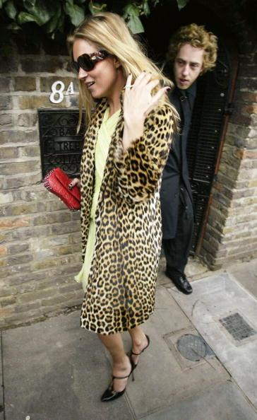 Leopard Print「Kate Moss Celebrates 30th Birthday」:写真・画像(3)[壁紙.com]