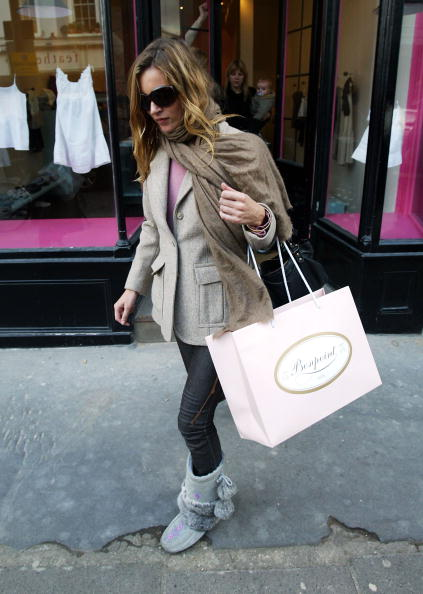 Colors「Kate Moss Out In Notting Hill」:写真・画像(5)[壁紙.com]