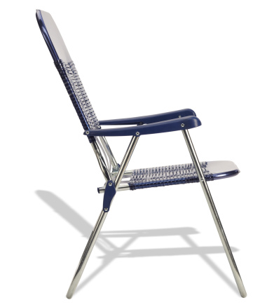 Side View「Blue Beach Chair Side View」:スマホ壁紙(11)