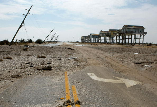 Gilchrist - Texas「Coastal Texas Faces Heavy Damage After Hurricane Ike」:写真・画像(10)[壁紙.com]