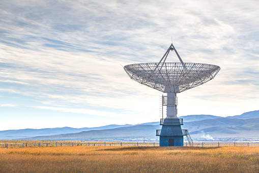 Government Building「Radio telescope」:スマホ壁紙(17)