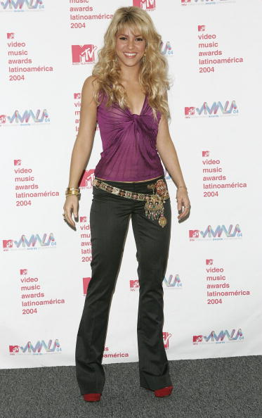 Metallic Belt「2004 MTV Video Music Awards Latin America - Press Room」:写真・画像(15)[壁紙.com]