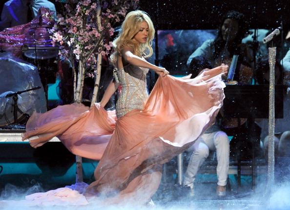 Sweetheart Neckline「The 12th Annual Latin GRAMMY Awards - Show」:写真・画像(12)[壁紙.com]