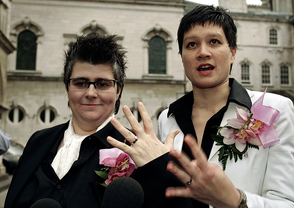 Showing Off「Belfast Couple Hold UK's First Gay Wedding」:写真・画像(4)[壁紙.com]
