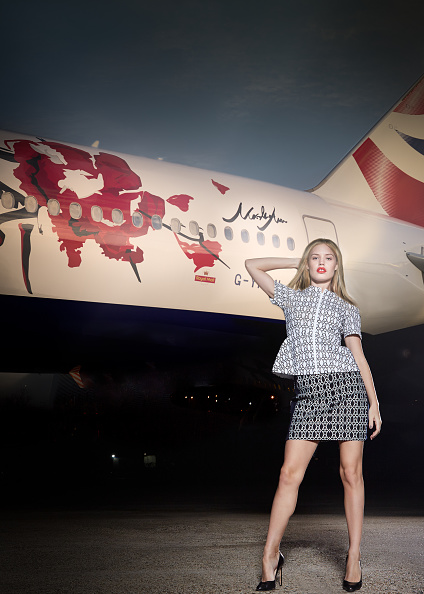 Heathrow Airport「Georgia May Jagger launches Great Festival of Creativity Liveried Aircraft for British Airways」:写真・画像(5)[壁紙.com]
