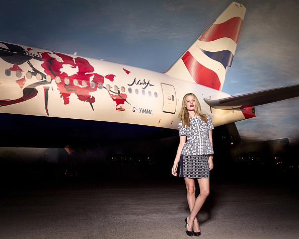 Heathrow Airport「Georgia May Jagger launches Great Festival of Creativity Liveried Aircraft for British Airways」:写真・画像(6)[壁紙.com]