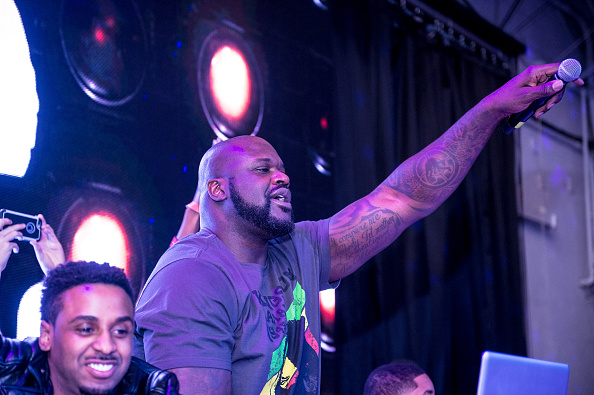 Shaquille O'Neal「Bounce Sporting Club Presents The VIP Lounge At MAXIM's All Star Party」:写真・画像(16)[壁紙.com]