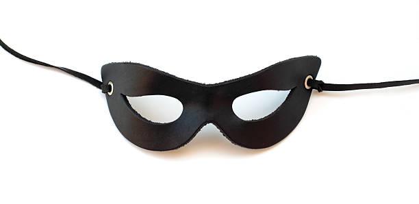 ブラックレザー catmask:スマホ壁紙(壁紙.com)