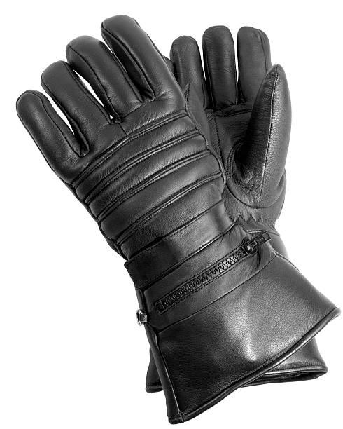 Black Leather Biker Gloves:スマホ壁紙(壁紙.com)