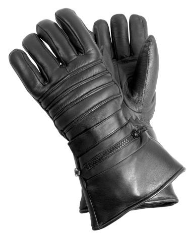 手袋「ブラックのレザーバイカーグローブ」:スマホ壁紙(14)
