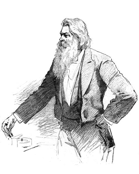 Light Bulb「Joseph Wilson Swan, British physicist and chemist, demonstrating electromagnetism, 1889.」:写真・画像(6)[壁紙.com]