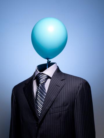 Well-dressed「Air Head Business Man」:スマホ壁紙(8)