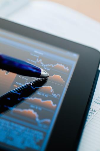 Banking「Market Analyze Financial Stock Chart Tablet Computer」:スマホ壁紙(8)