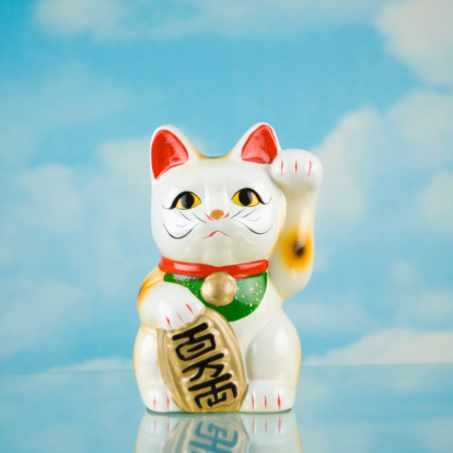 Maneki Neko「Japanese beckoning cat statue」:スマホ壁紙(8)