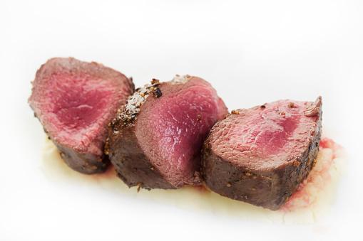 Venison「Very raw looking venison steak」:スマホ壁紙(4)