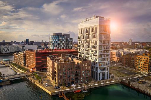 Danish Culture「Copenhagen cityscape: Modern architecture at the sea」:スマホ壁紙(14)