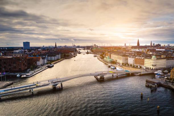 Copenhagen cityscape: Modern architecture at the sea:スマホ壁紙(壁紙.com)