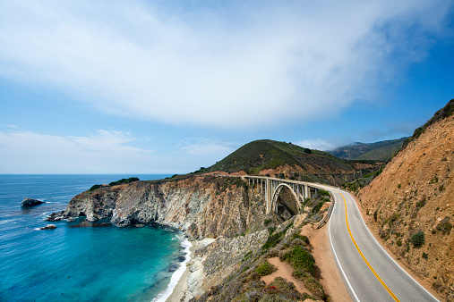 Bixby Creek Bridge「Highway 1 near Big Sur」:スマホ壁紙(2)